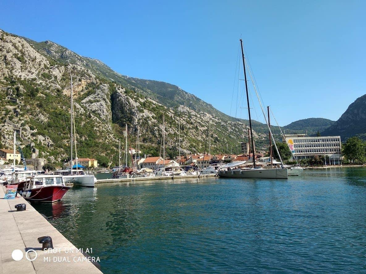 Порт в Которе (Черногория)