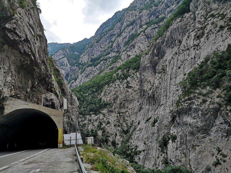Дорога во время экскурсии