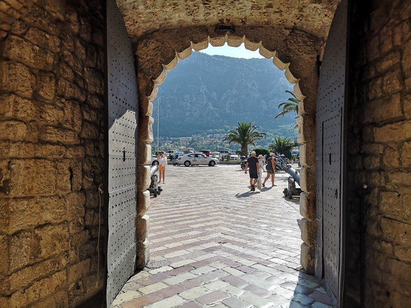 Центральные ворота старого города