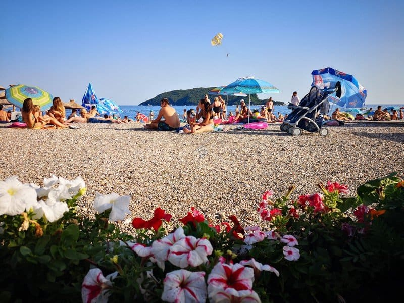 Центральный пляж Будвы