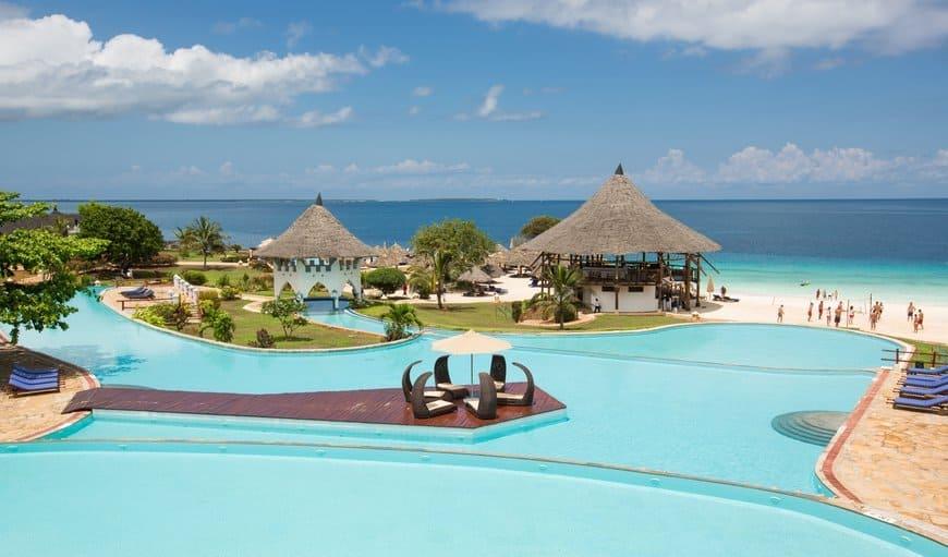 Пляж Royal Zanzibar в Танзании