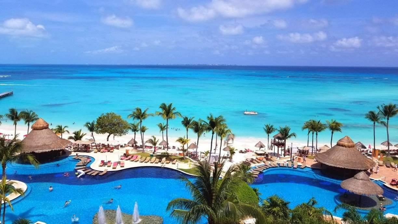 Пляж в Канкуне - Мексика