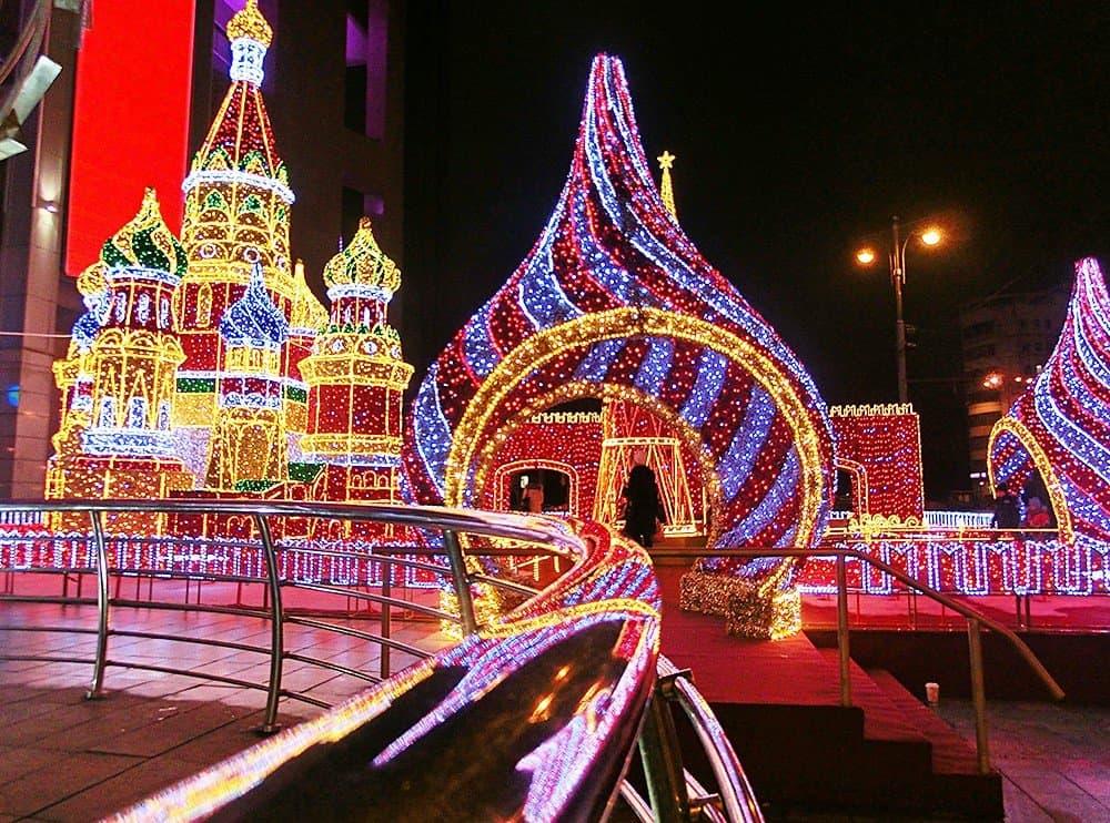 Новогодняя Москва для детей