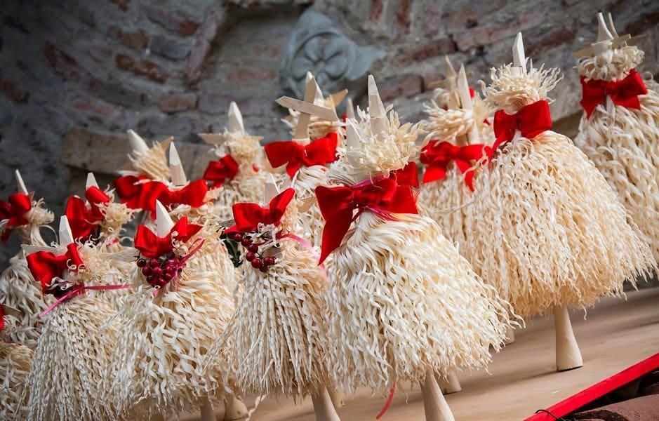 Деревяная ёлочка чичилаки - символ нового года