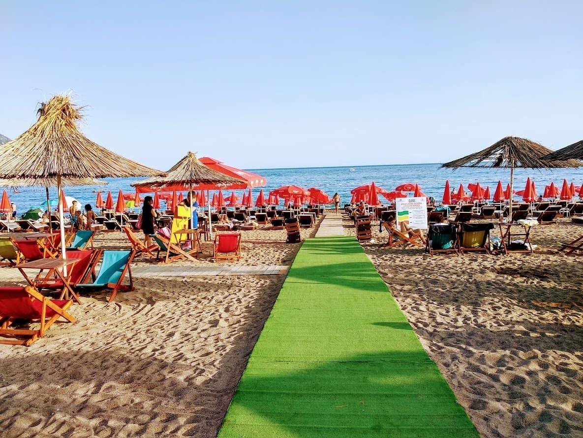 Пляж в Бечичи