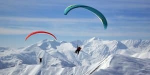 Полет в горах