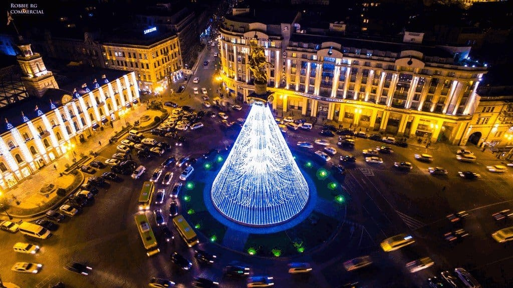 Тбилиси на Новый Год