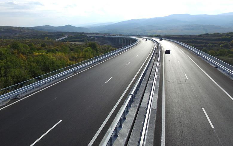 Платный автобан в Болгарии