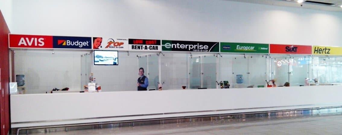 Прокатчики в аэропорту Бургаса