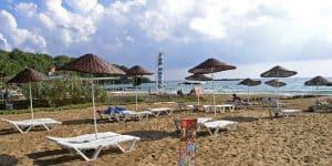 Пляжная инфраструктура в Инжекум