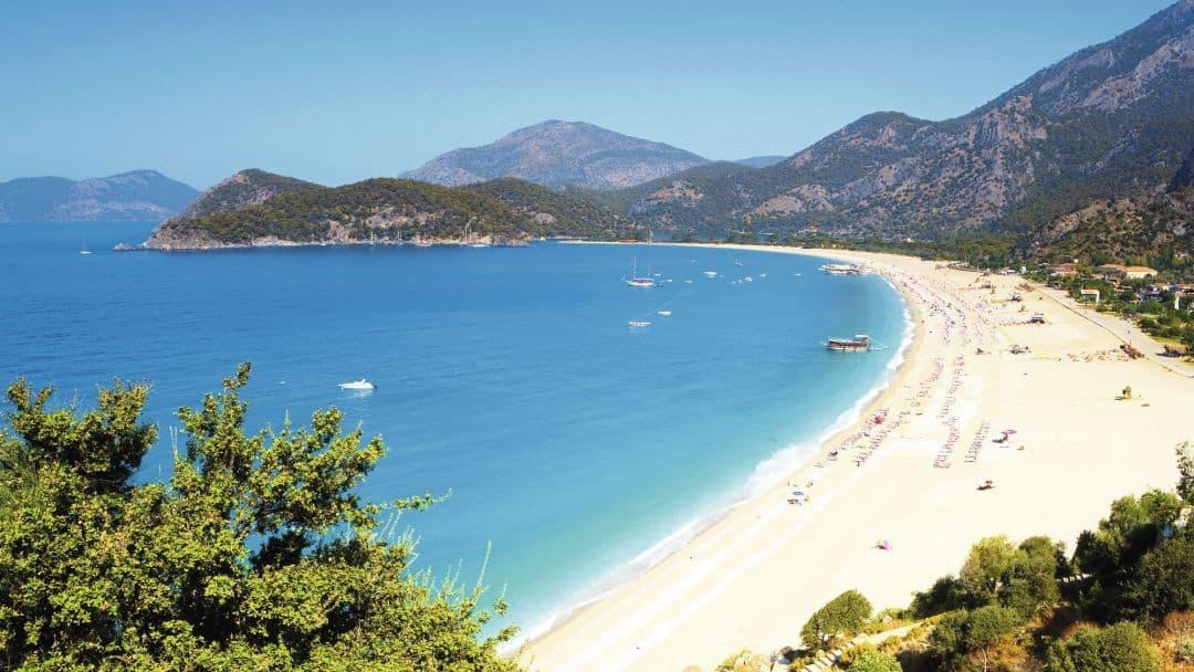 Пляжи Даламана