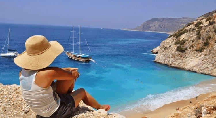 Потрясающие пляжные пейзажи Турции