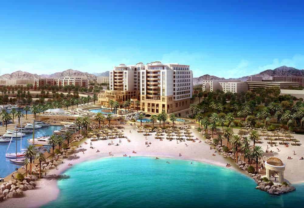 Акаба - главный курорт Иордании