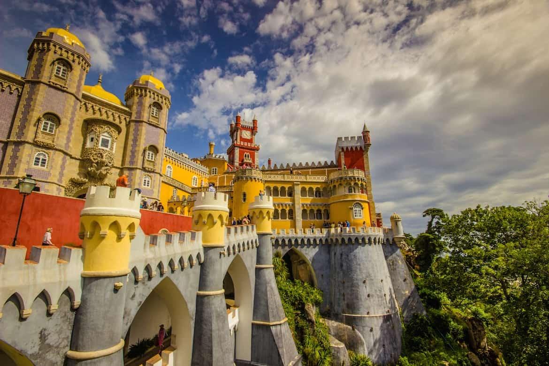 Замки в Португалии (Синтра)