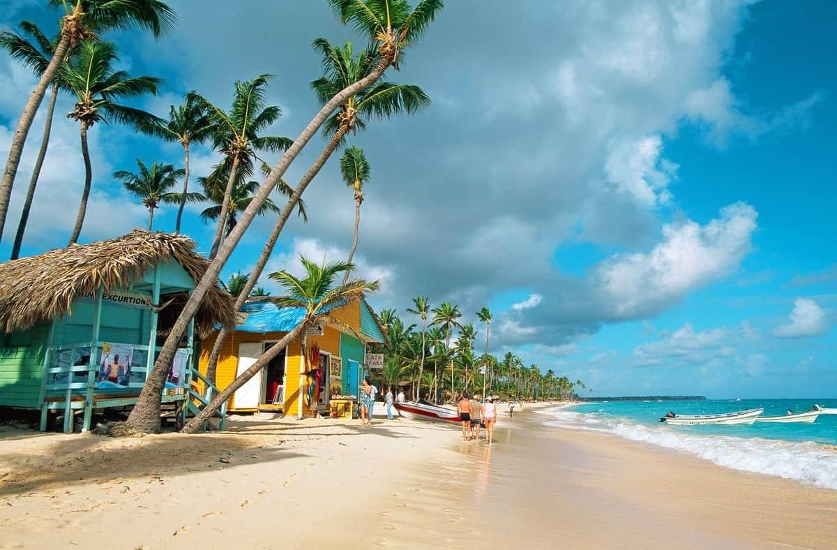 Бунгало на берегу океана в Доминикане