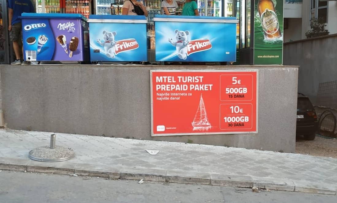 Планы мобильной связи в Черногории