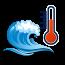 Динамика изменения температуры воды в море