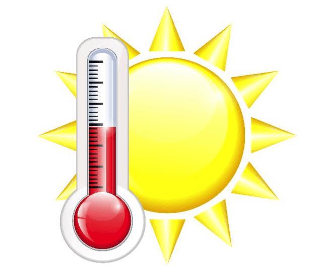 Динамика изменения температуры воздуха в течение месяца