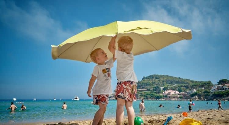 Отпуск с ребятами на берегу Испании