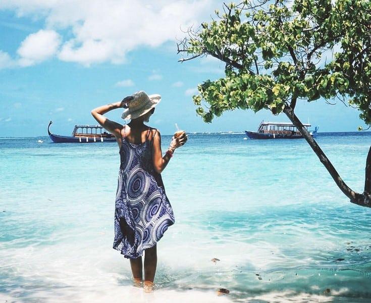Женщины на Мальдивах