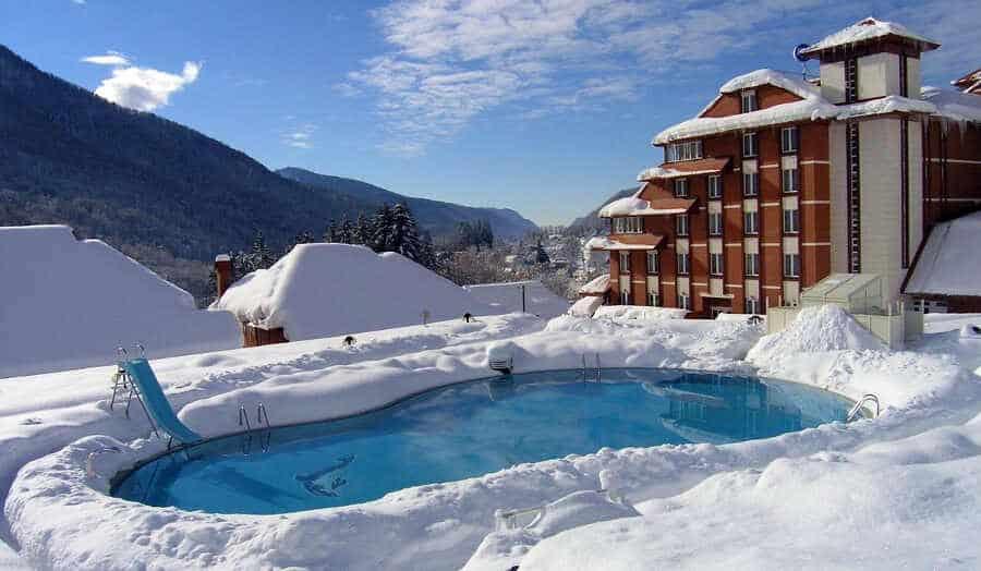 Отдых зимой в Сочи