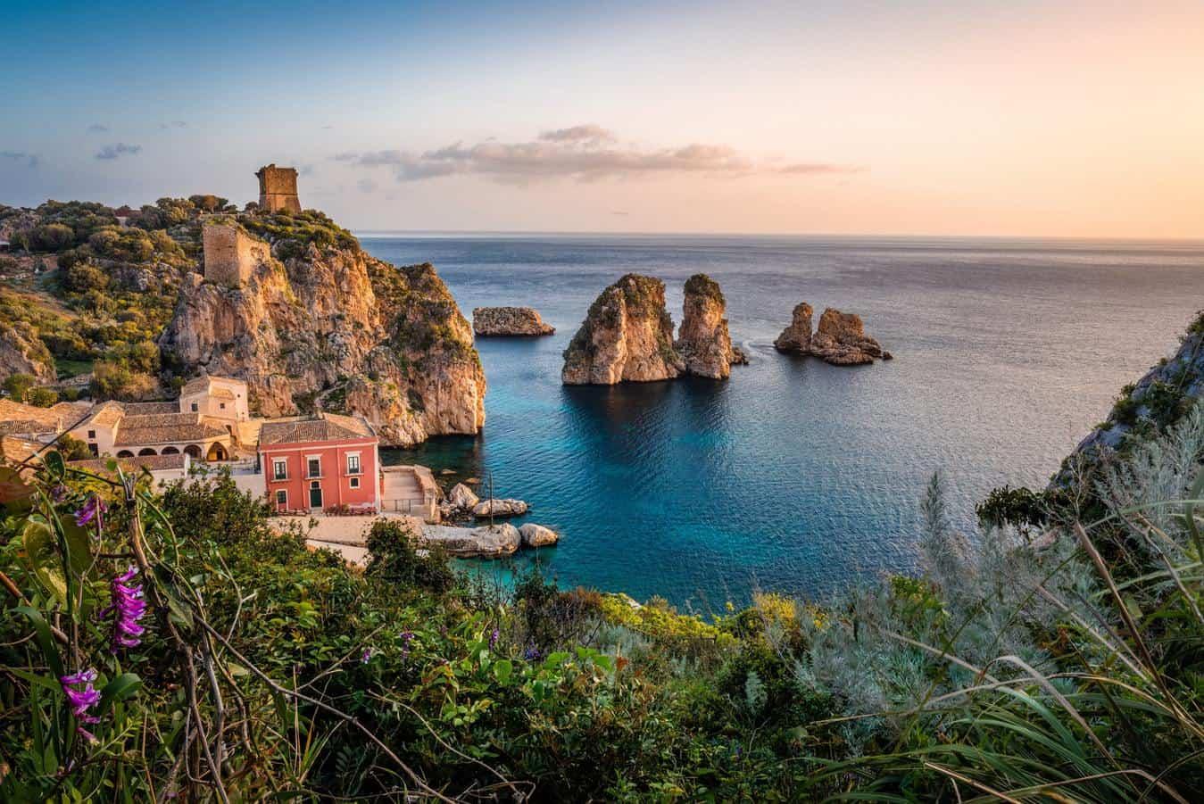 Пейзажи Сицилии, Италия