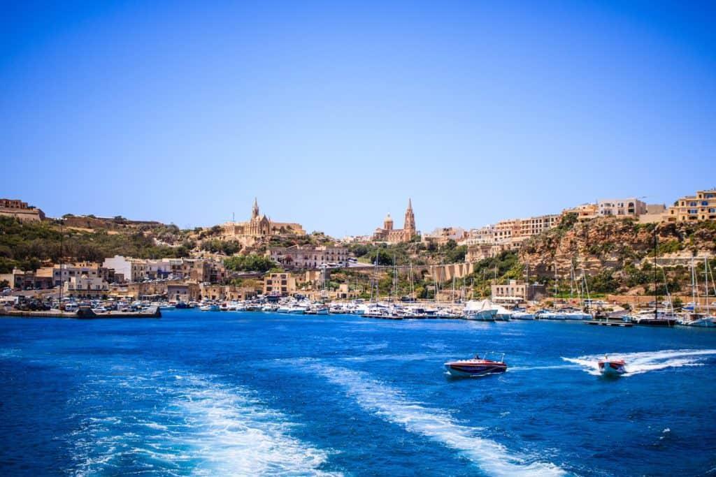 Порт в Мальте